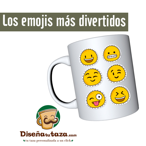 Tazas Emoji
